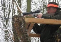 Afbeelding: Jager op een hoozit