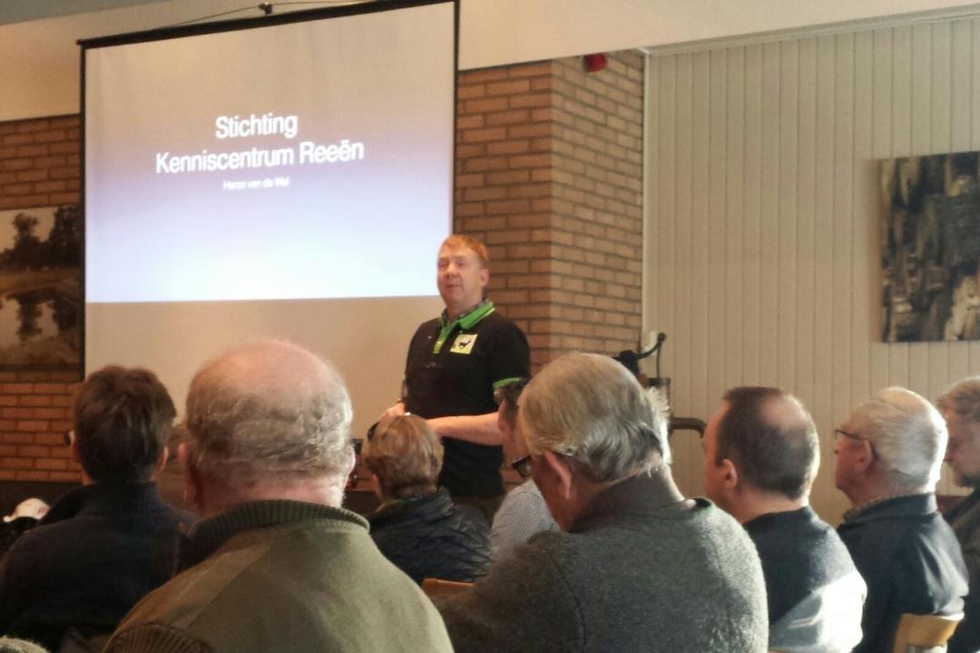 Afbeelding: Opening bijeenkomst: Drones redden reeën door Herzo van der Wal, foto: Kees de Geeter